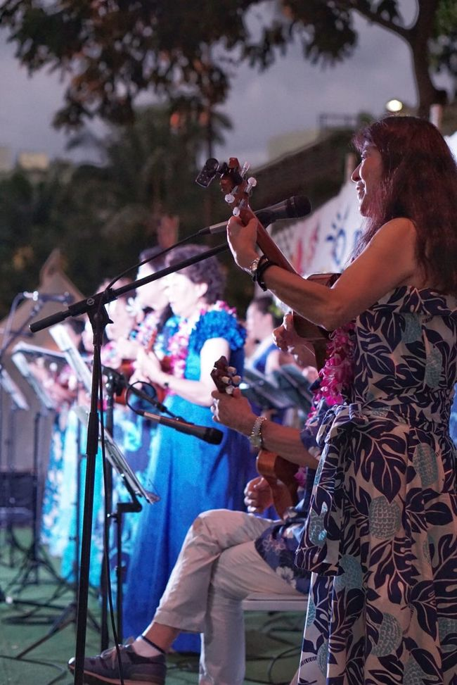 Pan Pacific Culture Festival, Waikiki... Pacific Waikiki Festival Traditional Performing Arts Streetphotography