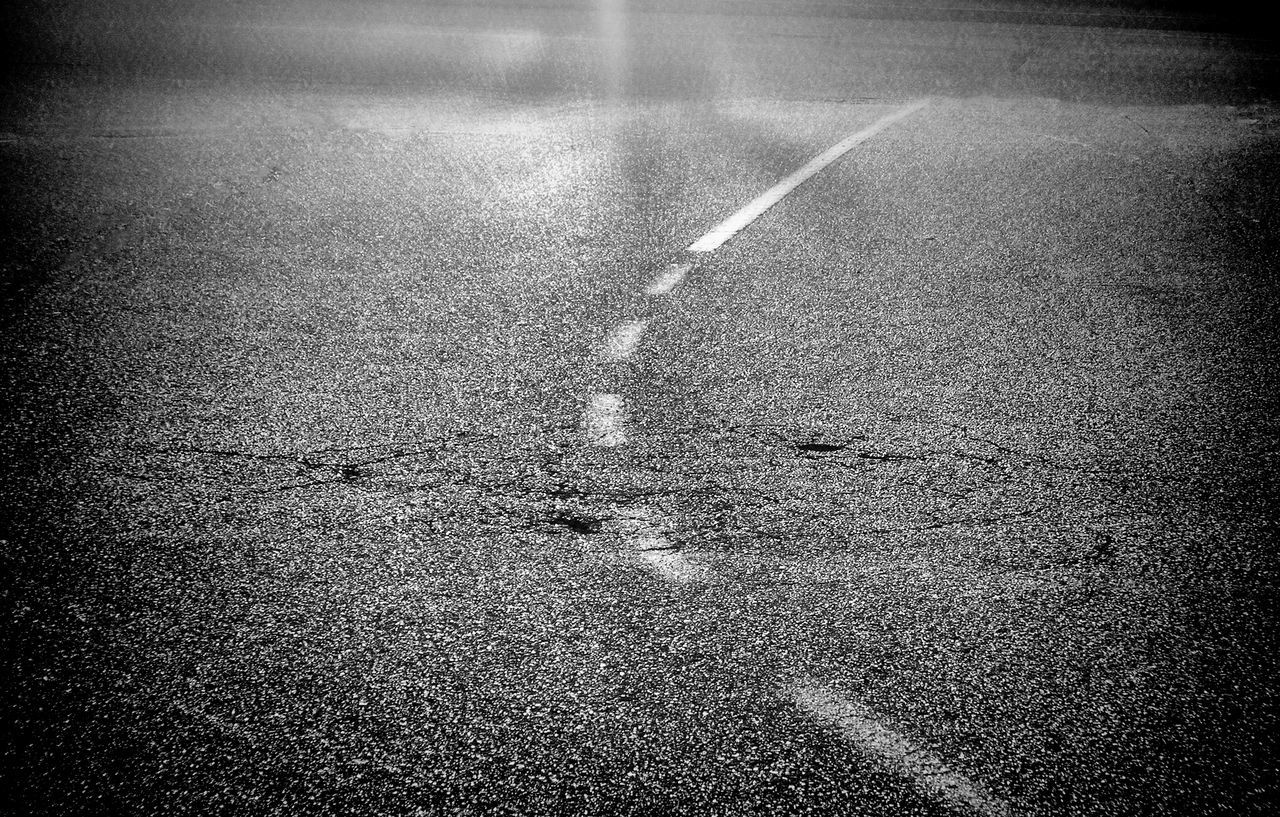 Homage to Federico Fellini, La strada Street Photography Asphalt Backlighting Black And White Street Hockey City Street Photography Hotizontal Composition Loneliness Modern Architecture Monochrome _ Collection Mood No People Outdoors