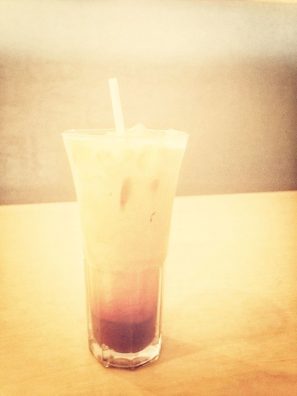 thai iced tea with lunch? yes please.