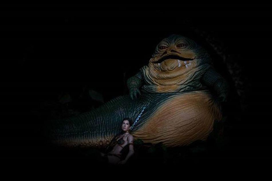 Slave... Jabba Jabbathehutt Returnofthejedi Rotj Leia Slaveleia Generalleia Princessleia Starwars Starwarstheblackseries Blackseries