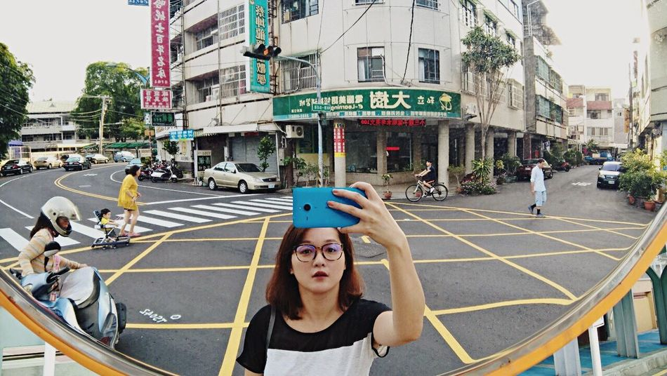 My Country In A Photo | Snapshots Of Life | Open Edit | That's Me in a Convex Mirror Selfie with Lumia 640XL Mvaau