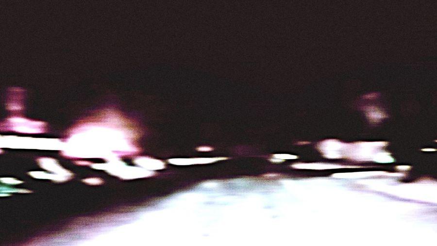 Glitch Road Night First Eyeem Photo