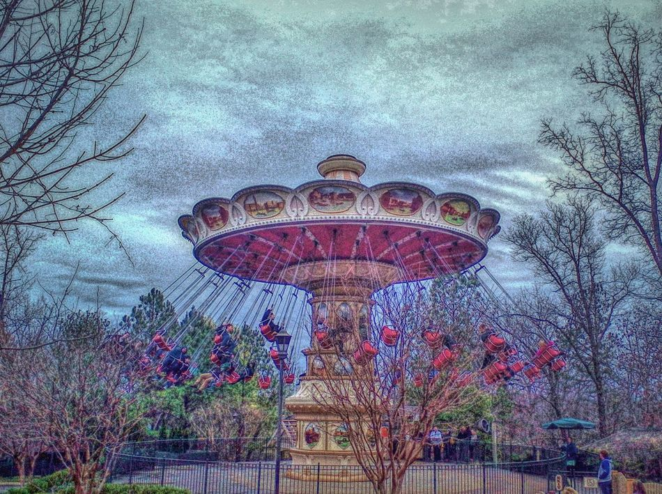 The Magnificent Wave Carousel at Silver Dollar City Theme Park in the Ozark Mountains near Branson, Missouri Show Me State Ozarks Streamzoofamily Feel The Journey My Year My View