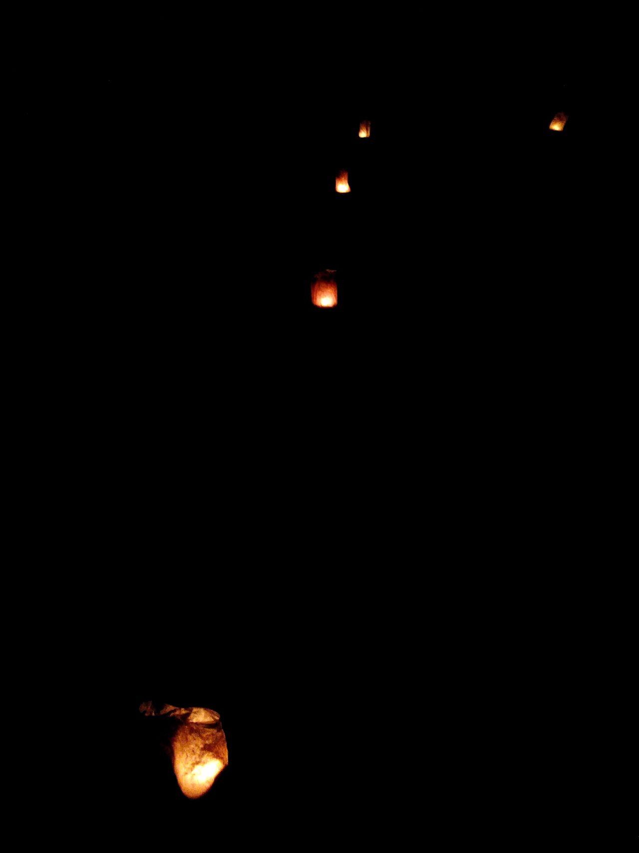 Outdoors Night Lights No People Guidance Night Homemade Lantern Candles