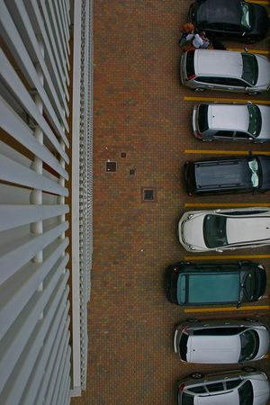 Bibione Cars Balcony Canon 300d Day Italy Kevins Choice Photography