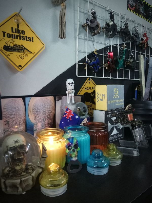 Morning ritual @goerat tattoo studio bali indonesia _agung dana