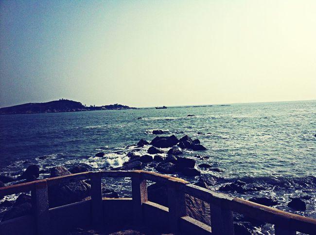 Sea And Sky Wind In My Hair Island View  Popu!ar Photos