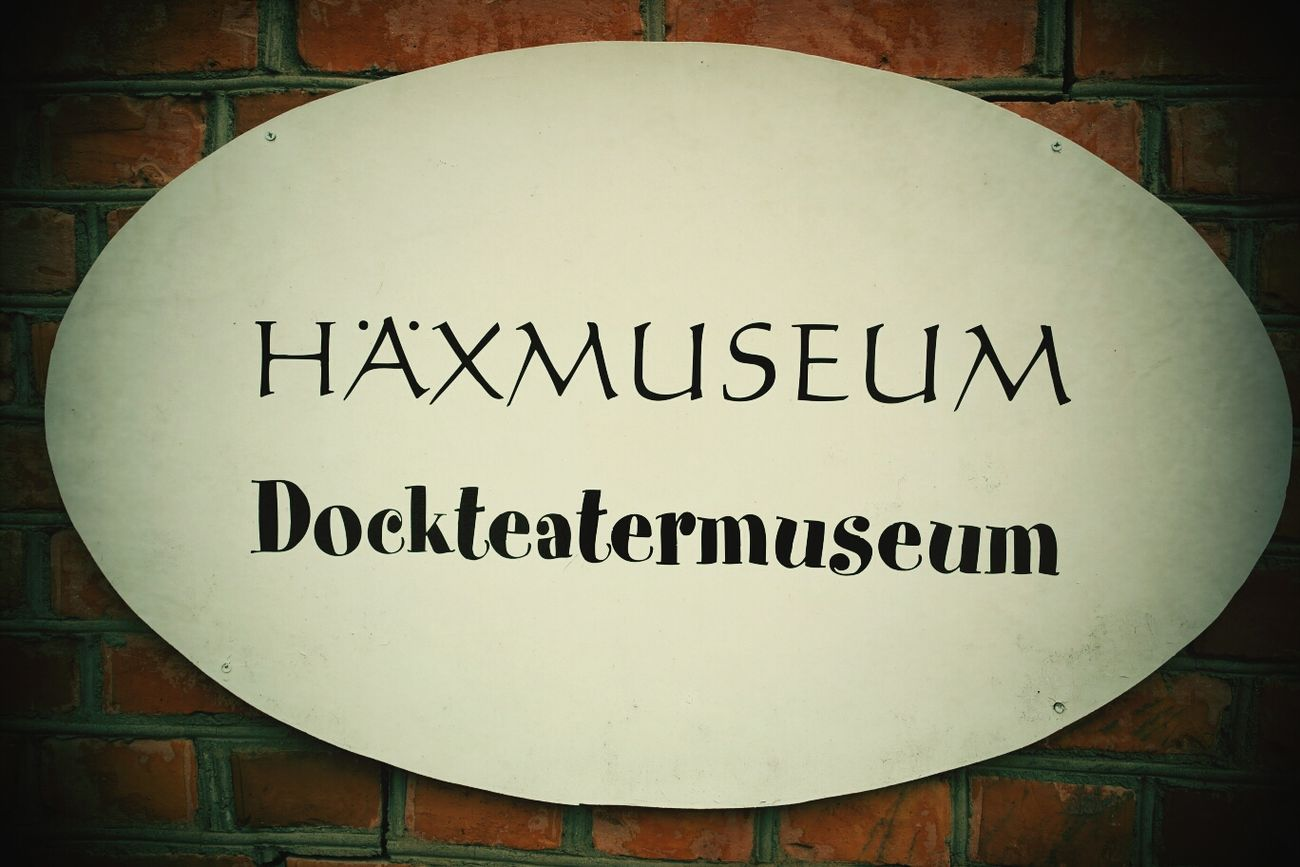 Museum Exhibition Häxmuseum Witch Museum