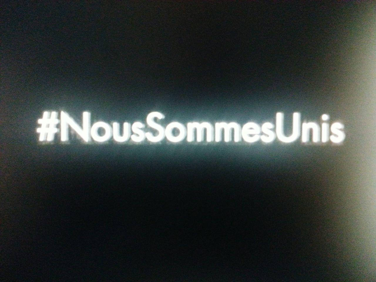 R.I.P 13.11.2015 Je Suis France/Paris Je Suis Paris Nous Sommes Unis