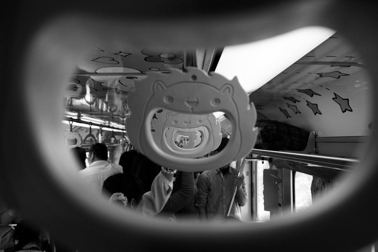 哈哈哈哈… HA HA HA HA… What I Saw Blackandwhite Streetphotography The View And The Spirit Of Taiwan 台灣景 台灣情 Train Monochrome