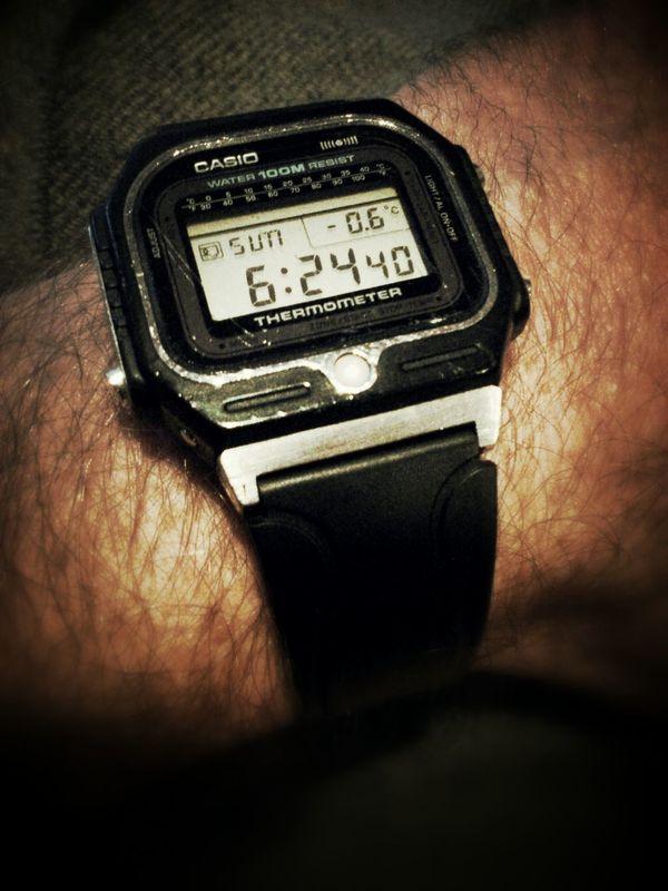 My first digital clock. And it still works! Watch Casio Brandwhore