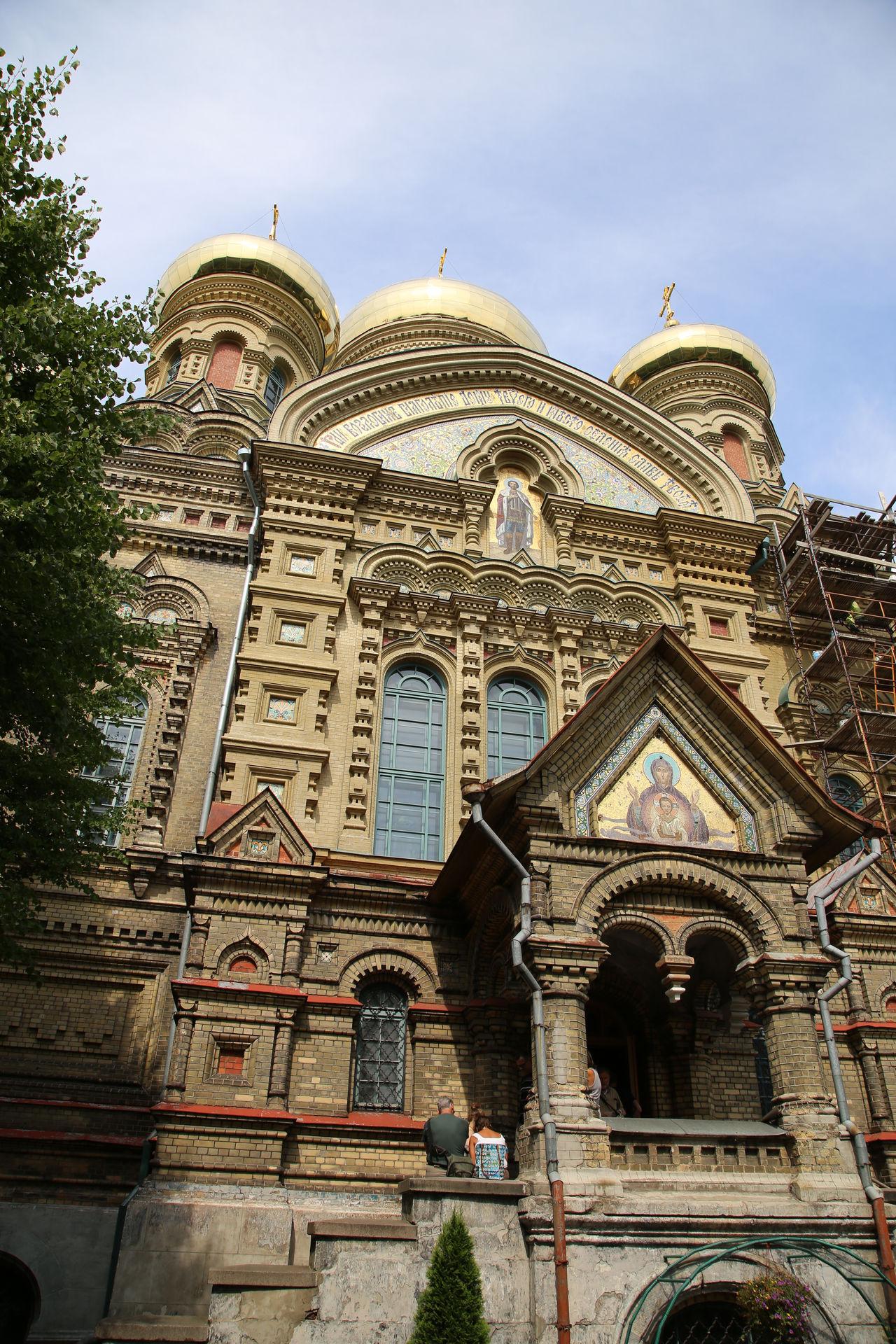 Cathedral Karosta Karosta, Liepaja Kathedrale Latvia Lettland  Liepaja Reisen In Lettland Religion Russian Orthodox Church Spirituality Travelling The Baltic States Zwiebeltürme