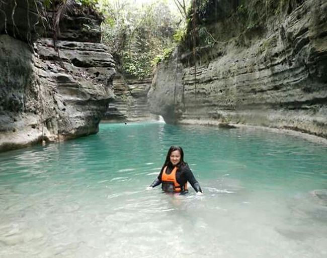 Ilovecebu Trust Yourself Adventuretime Canyoneering Canyoning Yourlife Is A Result Of The Choices You Make... If You Don't Like Your Life It Is Time To Start Making Better Choices. Solitude Body Of Water Nofilter