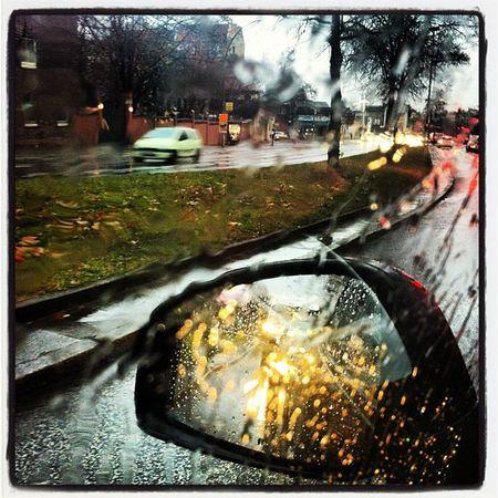 Rain rain rain... Yağmur yağmur yağmur :-)) gel işe git...