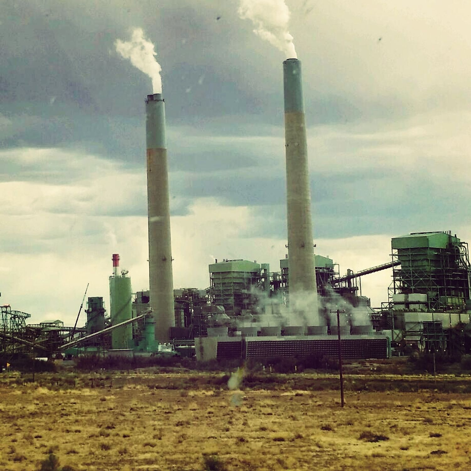 Another of my favorite landmarks Cholla Power Plant Industryporn Arizona