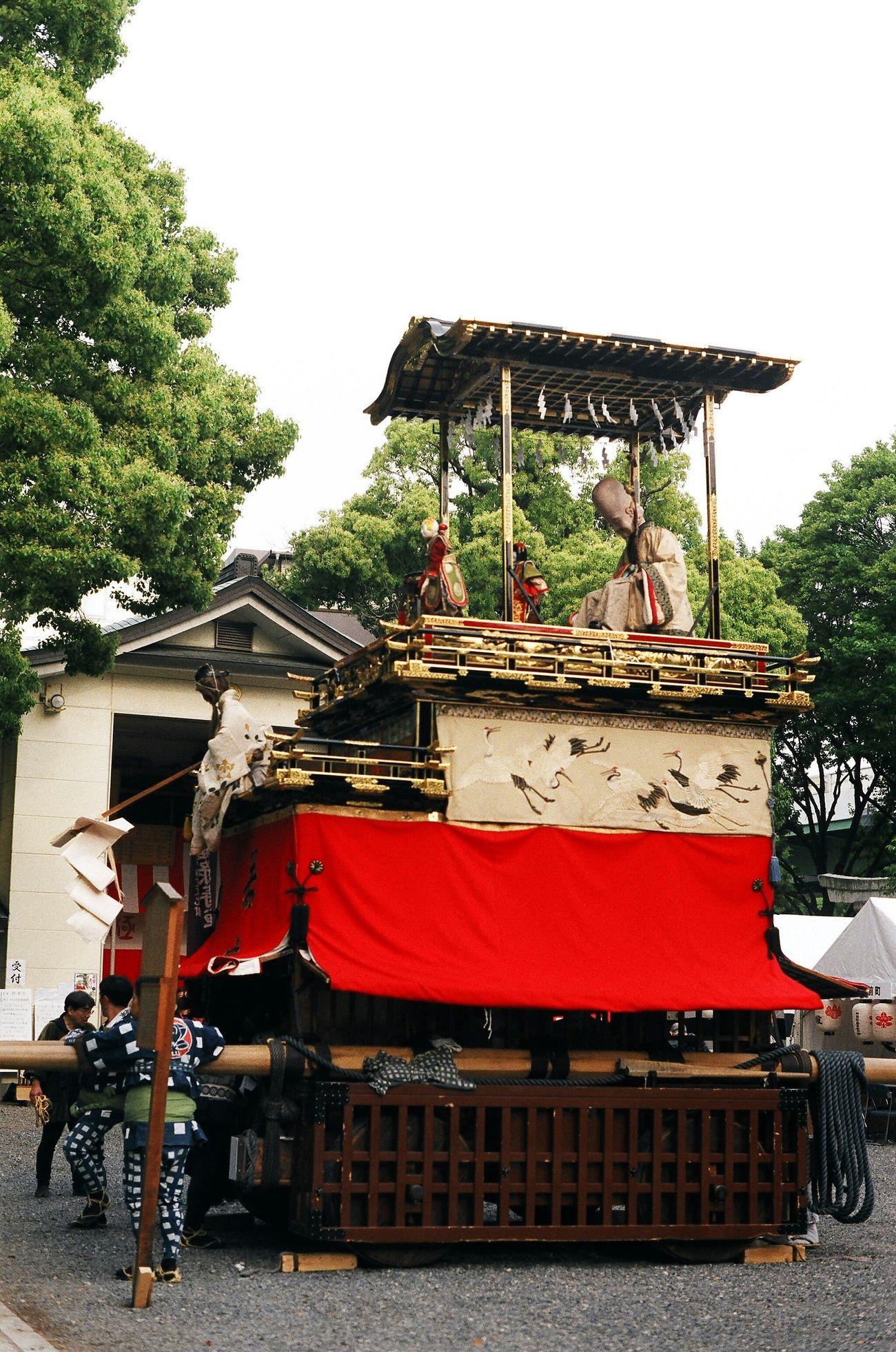 Nagoya Festival Hatimannsha 若宮祭 山車 Float Festival Car Japan 福禄寿車