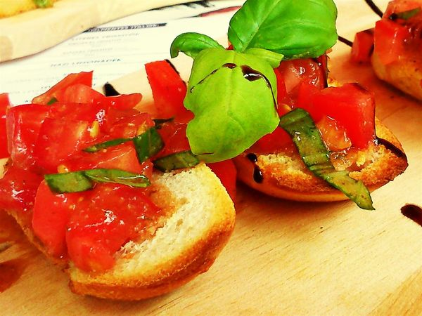 Bruschetta Bruschette Food Food Italian Tomato Basalik Proscuitto New Years Resolutions 2016