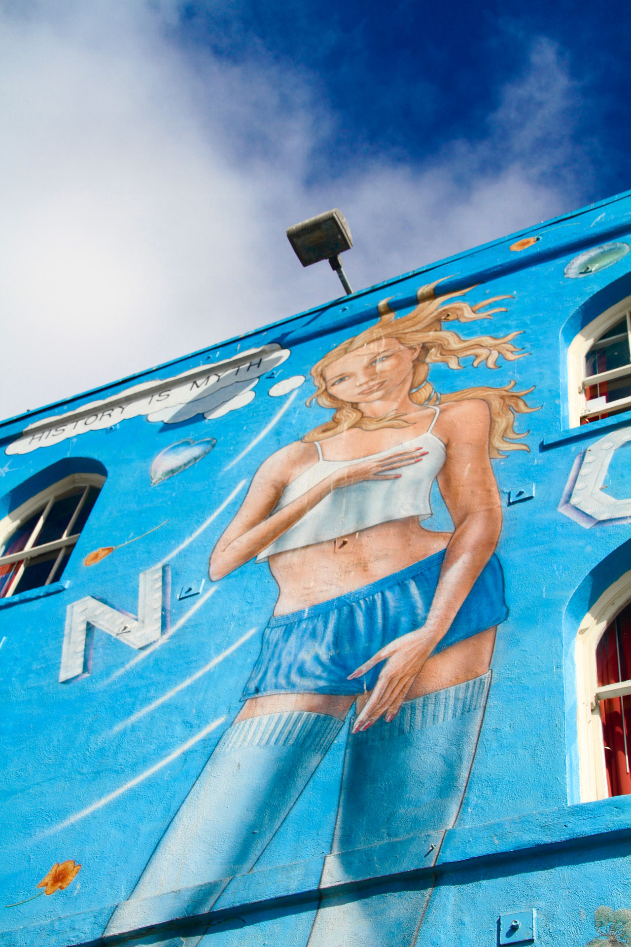 VENICE BEACH, UNITED STATES - OCT 03, 2016: view of painted walls in Venice beach in LosAngeles, california, united states 43 Golden Moments America Art, Drawing, Creativity ArtWork Blue Color California Eyeem Collection Getty Getty Images Getty X EyeEm Global Photographer-Collection Hello World Los Angeles, California Santa Monica Santa Monica Beach Sky Stockphoto The OO Mission United States Venice Beach Venus Women