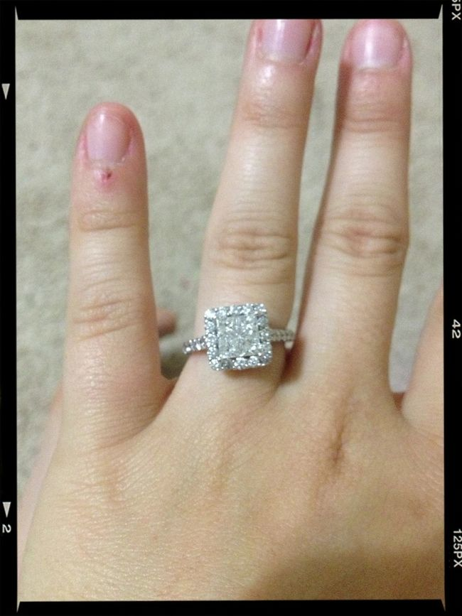 In love with my huge ass engagement right