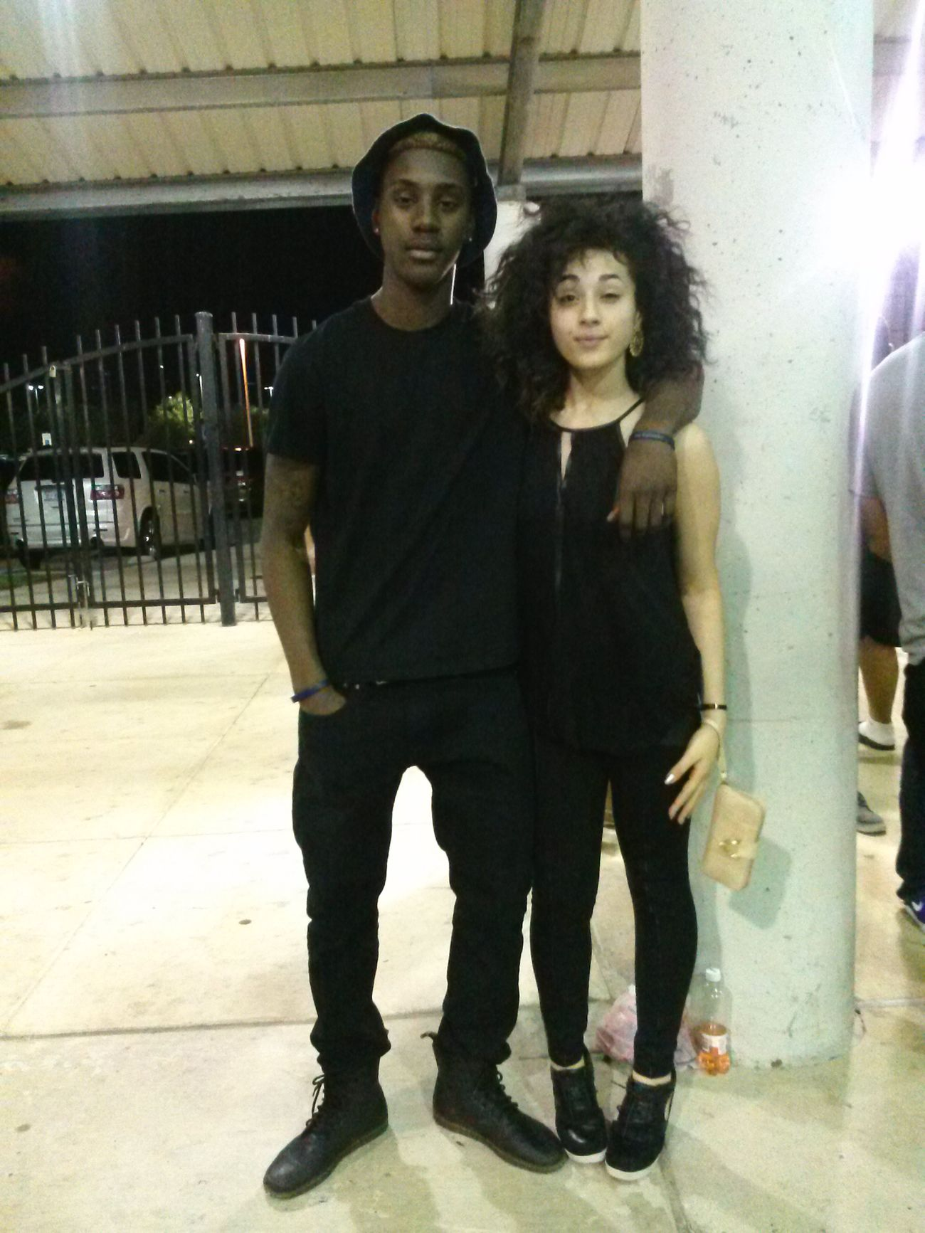 All Black With Chris