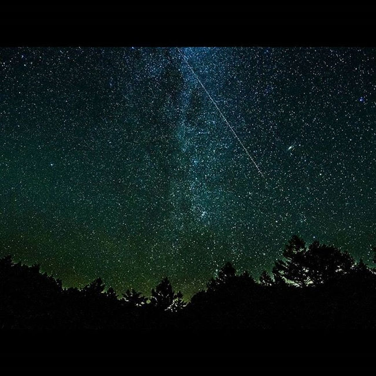 満天の星 流れ星 茶臼山高原 アンドロメダ銀河 天の川 Raw現像 星空