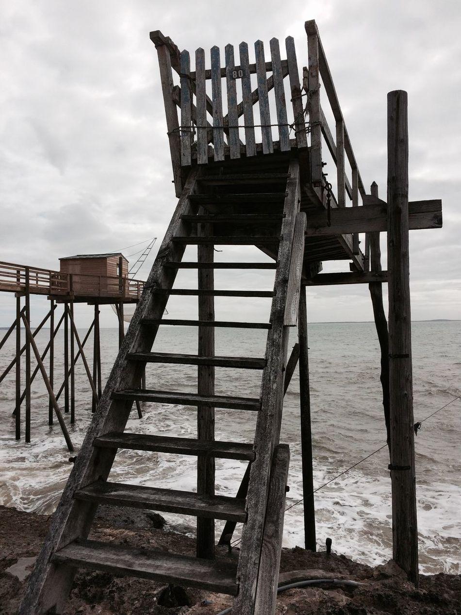 2016 Sea Water Sky Carrelets Charente-Maritime