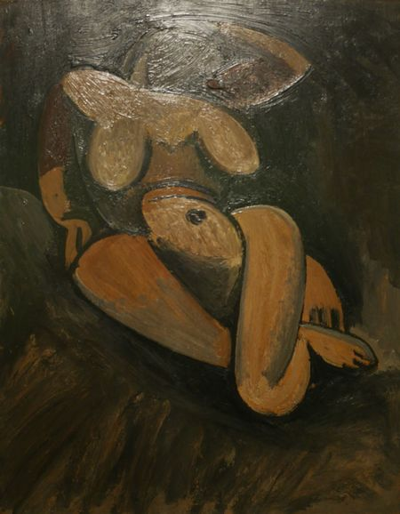 Nude-Art Expo Paintings Soulages Museum Cubism Painting Rodez Artist Aveyron Museum Soulages Musee Soulages Rodez Art Museum Picasso Art  Picasso Pablo Picasso Human Representation Woman Art Creativity Illustration Painted Image Representation Close-up Art, Drawing, Creativity