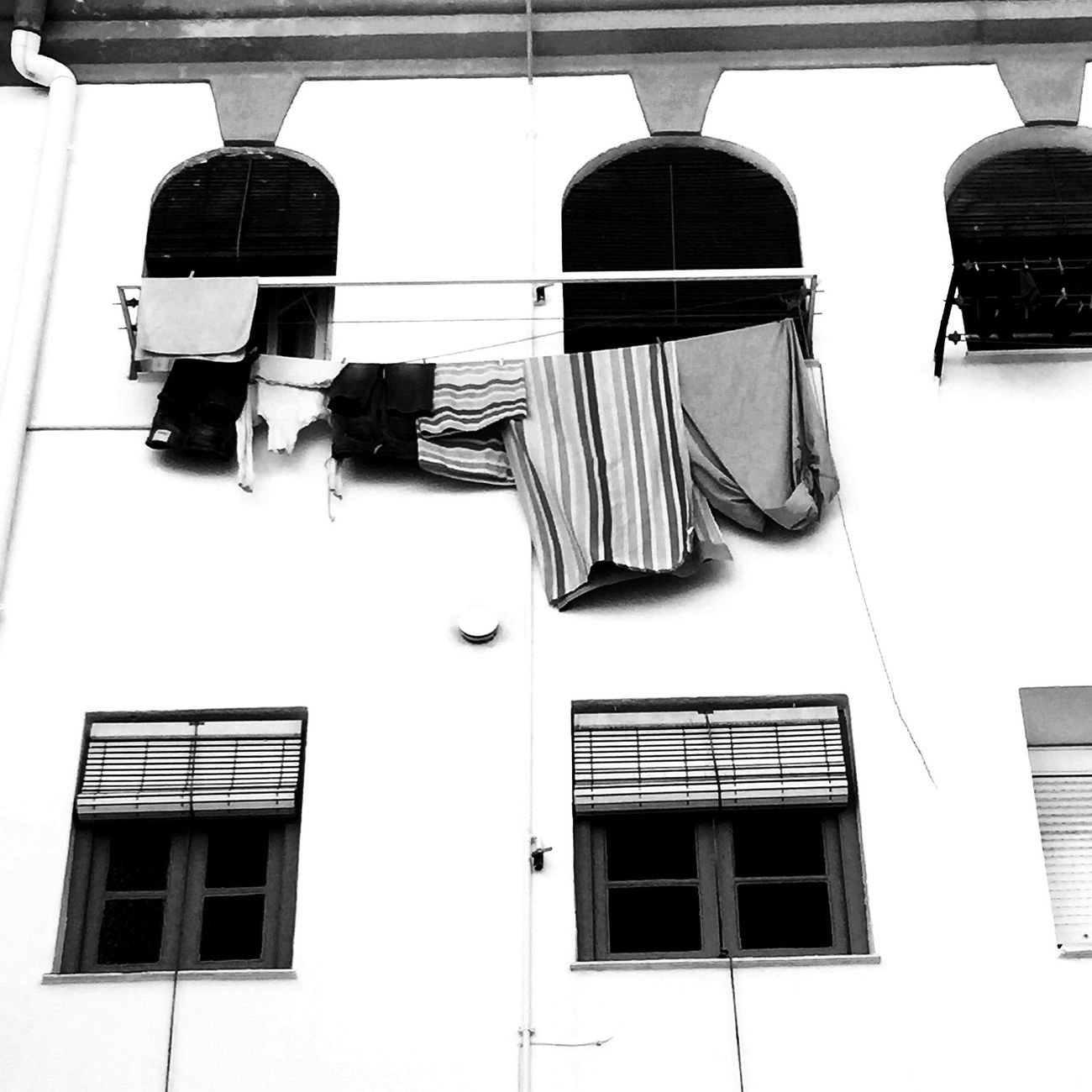 En un patio de Sevilla Bw_collection Black And White Blackandwhite Monochrome Streetphoto_bw EyeEm Best Shots Urban Window