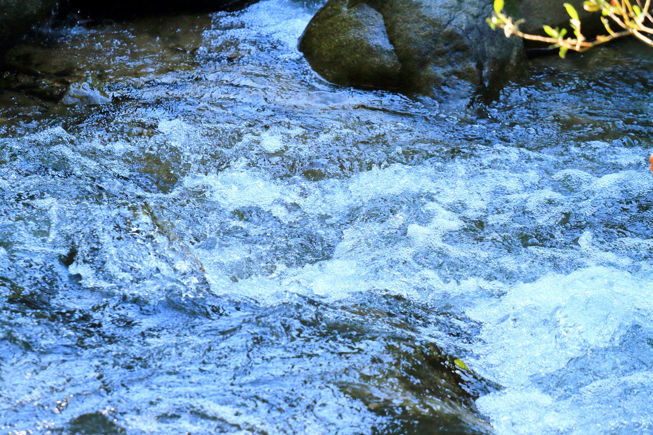 water, rock - object, nature, no people, motion, day, outdoors, waterfront, beauty in nature, tranquility, close-up