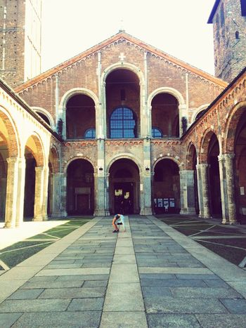 Athlete Stretch!  Old Church Milano