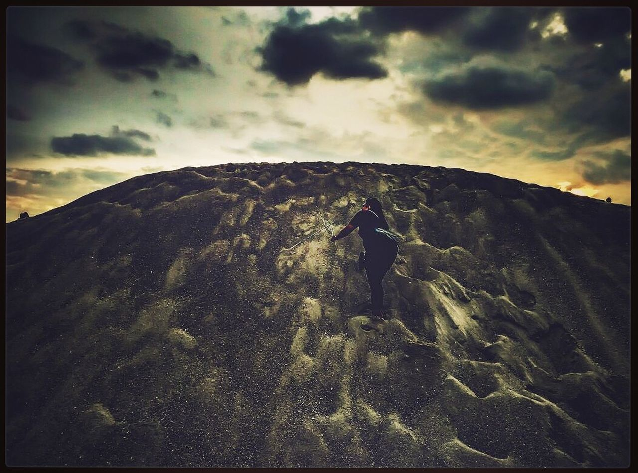 Climb Sandhill 2k17 Onlymephoto Naturealwayswins Cloud - Sky Sunset Motivation Hard Success Sky Geology Nature Beauty In Nature Outdoors No People Mountain Landscape Day Scenics First Eyeem Photo