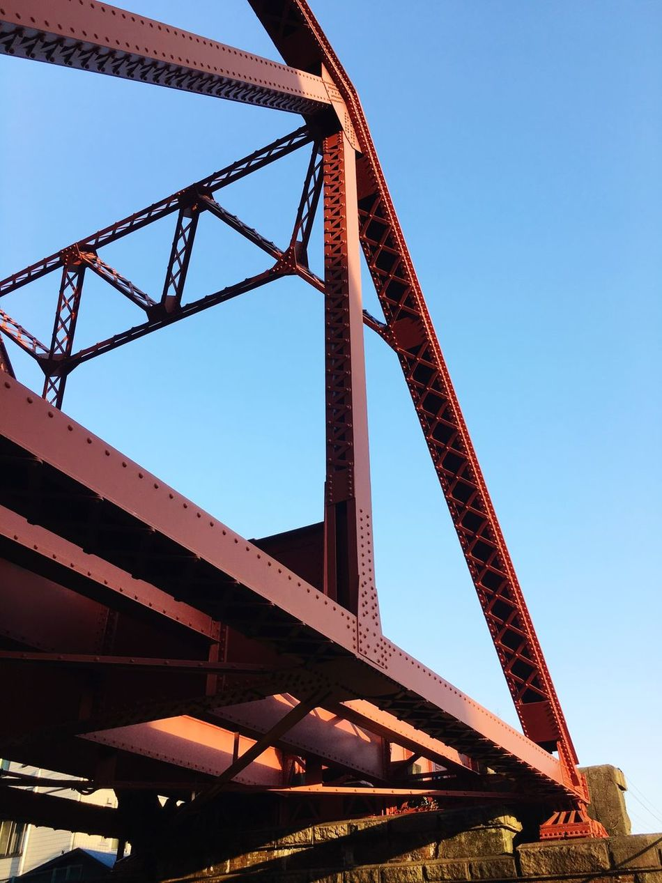 Bridge - Man Made Structure Architecture Low Angle View Clear Sky Bridge