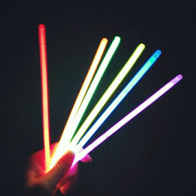 Light Stick Colorful Boring Moon Festival Beautiful