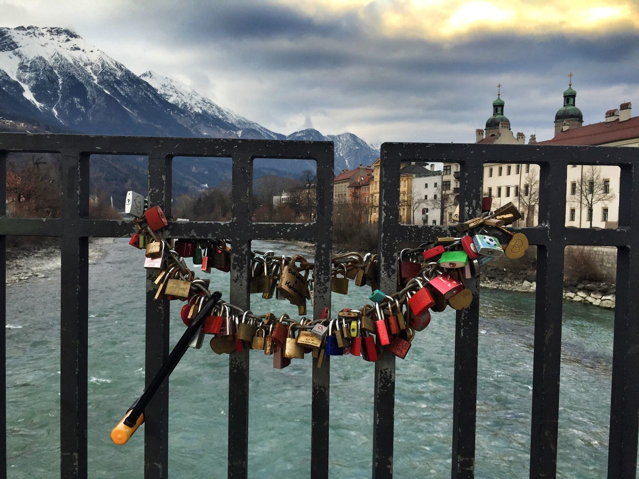Love-padlocks Innsbruck Austria Tirol  Inn Padlock's Bridge Padlock Love Traveling Travel Travel Photography