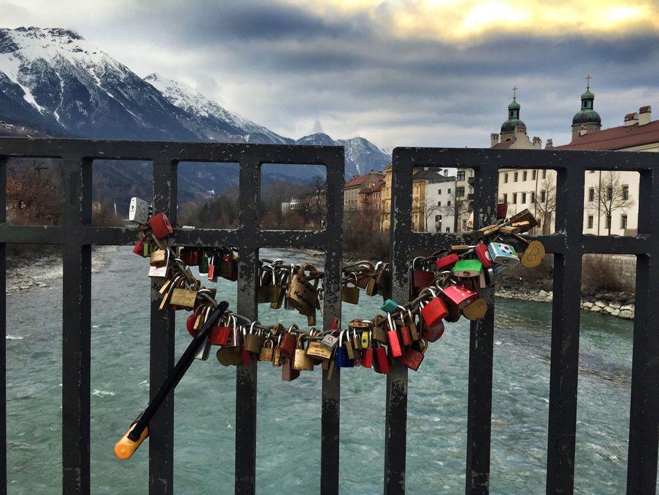 Love-padlocks Innsbruck Austria Tirol  Inn Padlock's Bridge Padlock Love Traveling Travel Travel Photography