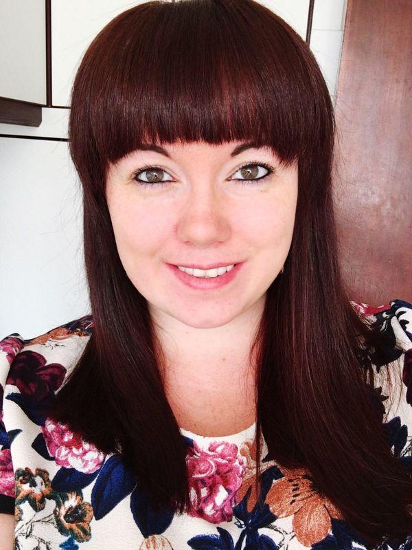 New Haircut Selfie ✌ ThatsMe Red Hair Scottish Lass Happy Brown Eyes