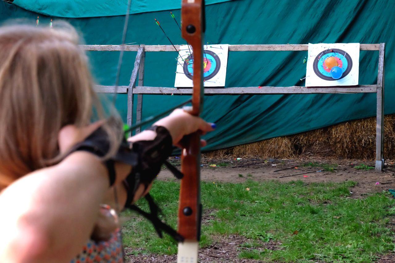 Bow Archery Self Portrait Saggittarius Sport