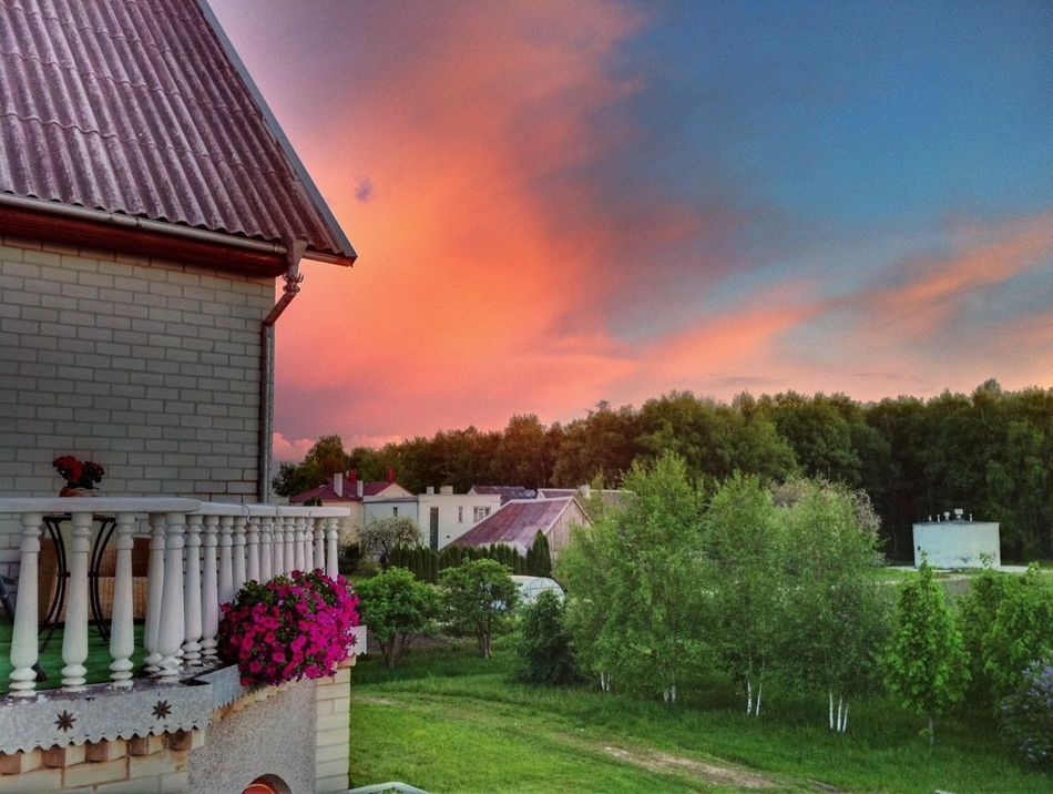 Naujoji Akmene Lithuania Lietuva Sunset