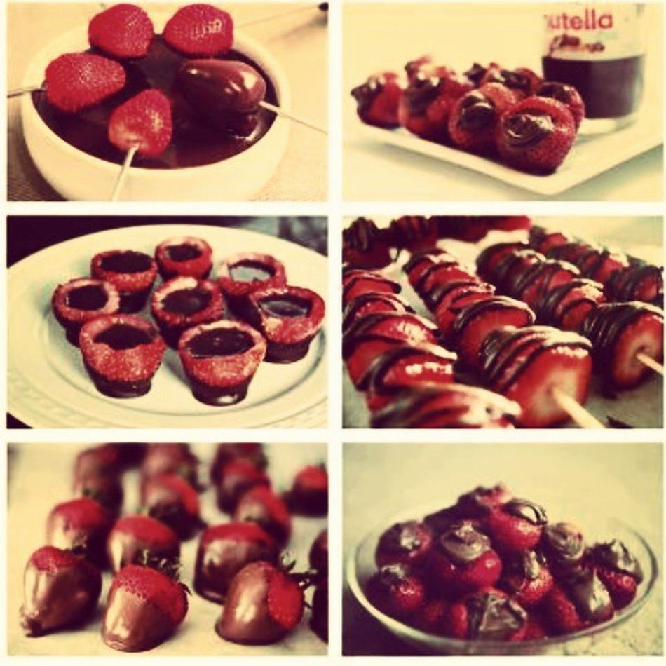 I love Chocolatestrawberries