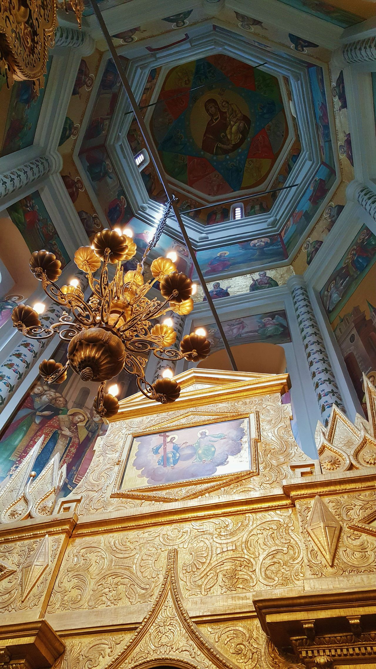 Low Angle View Ceiling Religion Indoors  No People Travel Destinations Architecture Place Of Worship Spirituality Day Architecture And Art Moscow Spirituality Russia Orthodox Church St. Basil's Cathedral In Moscow St. Basil's Cathedral Inside Photography Cathedral Orthodox Place Of Worship Tourism Ceiling Celing Detail Celing Art