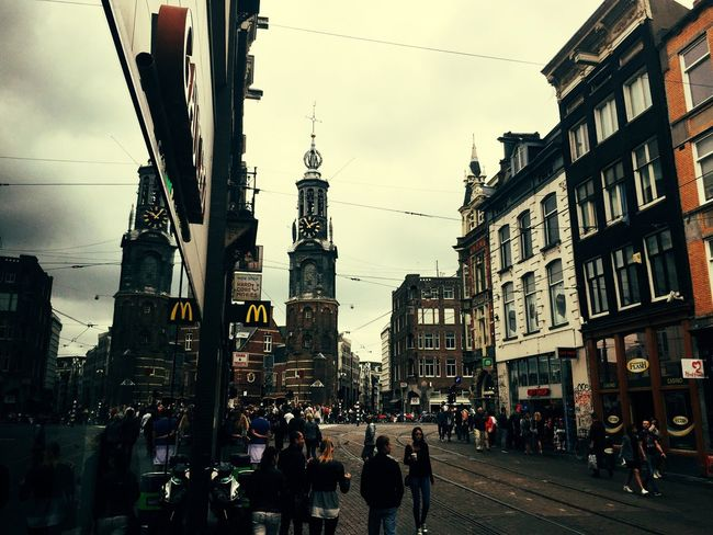 Running around in Amsterdam Architecture Building Exterior Built Structure Street City Walking Transportation Road City Street City Life First Eyeem Photo