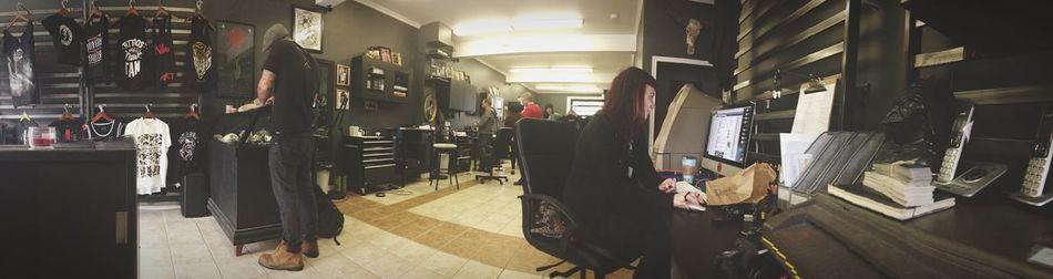 Hamilton Grim City Tattoo Club