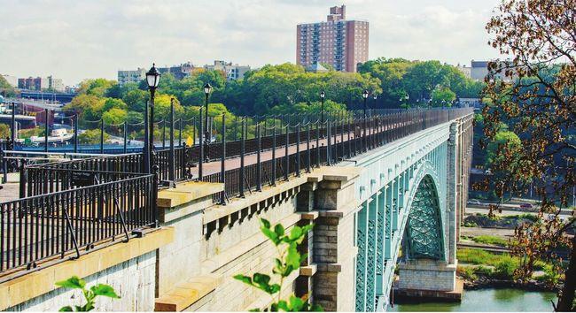 Exploring new places for myself Architecture Built Structure Bridge - Man Made Structure Highbridge #BRONX Manhattan Photowalks