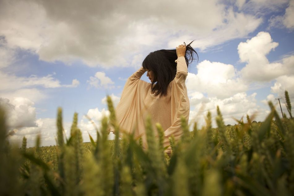 Beautiful stock photos of prinzessin, sky, field, nature, cloud - sky