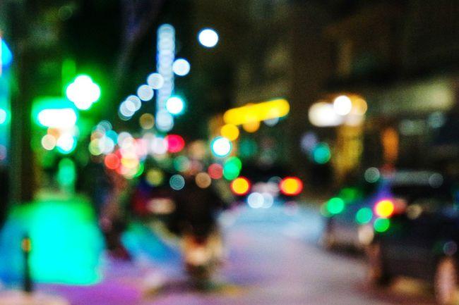 All The Neon Lights in Volos, Greece Taking Photos Streetphotography Urban Geometry Fresh 3 EyeEm Best Shots Open Edit Showcase: January Blurred Lights Bokeh Bokeh Photography Bokeh Lights