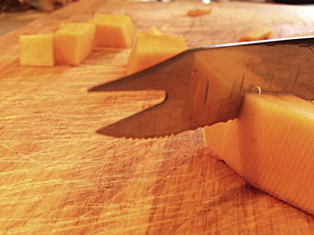 Chopping Board Wood - Material Butternut Squash Food Sharp Cutting Tool Cutting Knife Indoors  No People Close-up Day