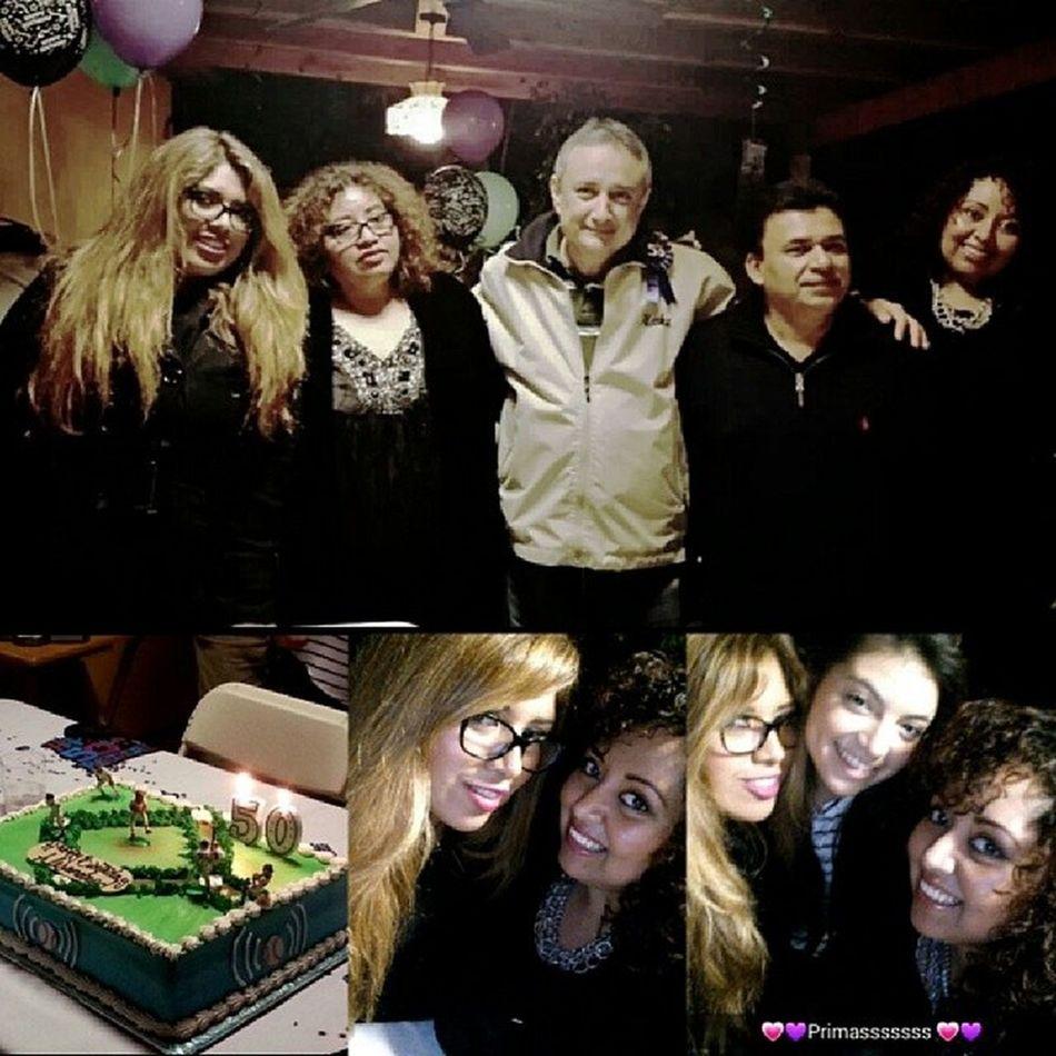 Yesterday surprise party for my tios 50th birthday! Latepost Familynight LoveThem  HappyBirthdayTio !