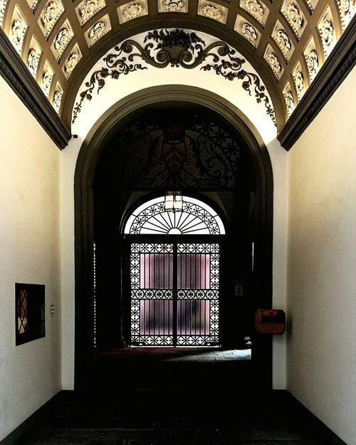 Arch Indoors  Built Structure No People Fresco Architecture Glass Art Doorway Colors