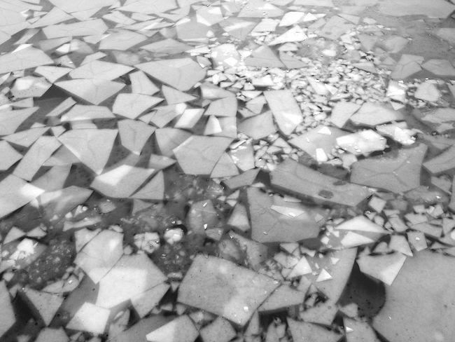 Ice breaker Eisbrecher Spree Wintertime Ice Eis River Frost Icebreaker B&w