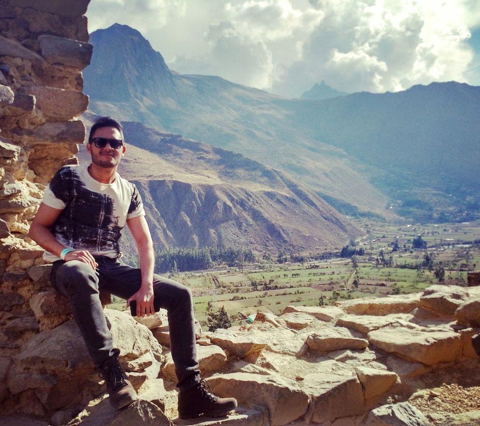 Ollantaytambo - Peru Perù 🇵🇪 Valesagradodosincas Incas AmericaDoSul Mountain Mountain Range Day Sky First Eyeem Photo